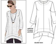 Tunic Sewing Pattern Impressive Image Result For Free Tunic Sewing Patterns For Women Wwwmaycloth