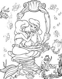 Ariel Colouring Pages 3 Color Ariel Coloring Pages Mermaid