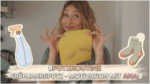 FRÜHJAHRSPUTZ - Motivation mit Ana Johnson! | AnaJohnson - YouTube