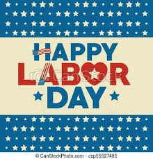 labor day theme labor day design stars of labor day in usa theme vector vector