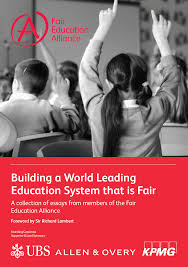 fair education alliance in the global race for excellence in 2016 pisa programme for international student assessment will be a wake up call for the uk in a series of essays entitled building a world class