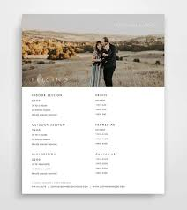Photography Pricing Template Photography Pricing List Pricing Guide Pricing List Etsy