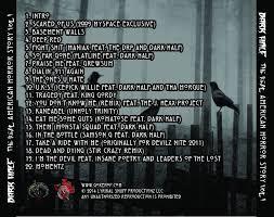 Cd Song List American Horror Story Song List Back Of Cd Dark Halfs Music