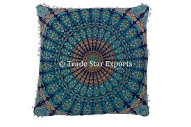 ethnic floor cushions. Perfect Ethnic Ethnic Cotton Mandala Euro Sham Decorative 26 In Floor Cushions H