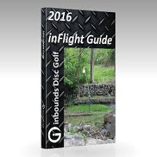 Marshall Street Flight Chart Paperback Book Inbounds Disc Golf Inflight Guide Graphic