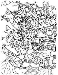 Pokemon Paradijs Kleurplaten Kleurplaat Kleurboek Pokémon