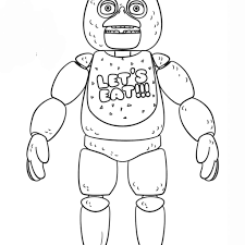 Fnaf Coloring Pages Bonnie With Fnaf Lineart Theivrgroup Org 4