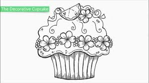 Small Picture Top 20 Free Printable Cupcake Coloring Pages YouTube