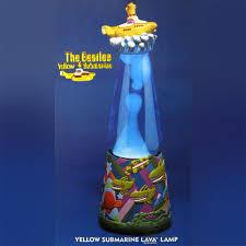Galleon Beatles Yellow Submarine Lava Lamp