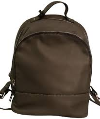 margot new glove gray leather backpack