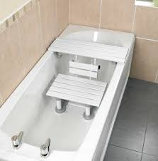 disabled bathtub chairs getting inout of the benches