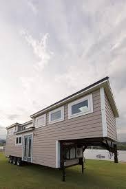 gooseneck tiny house. Trailer + 7\u2032 Gooseneck Top Highlighted Features: Best In Show Winner 2016 National Tiny House Jamboree, No-Loft Design, Skylights, Interior Barn Door, E