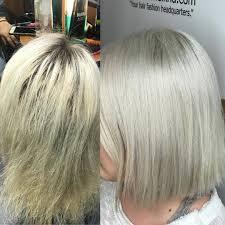 Platinum Hair Design Catwalk Hair Design When The Platinum Grows Out Too Much