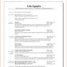 Resume Resume For Part Time Job In Restaurant Carinsurancepawtop