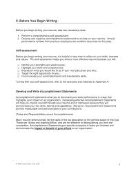 Accomplishments To Put On A Resume Template Ideas