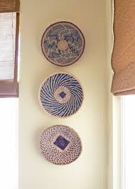 Wall Decor Home African Basket Wall Decor