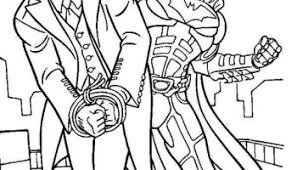 Small Picture Joker coloring pages online free batman