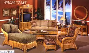 palm coast rattan wicker recliner