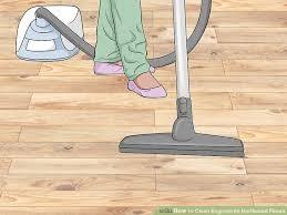 image led clean engineered hardwood floors step 2