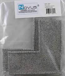 Novus Design Euro Grey Cobblestone L Intersection Roads Miniature Terrain Novus Design Studio