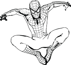 Superhero Printable Coloring Pages Colouring In Superheroes Derofc Club
