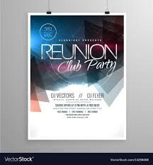 Create A Event Flyer Free 006 Event Club Party Flyer Template Brochure Design Vector