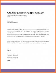 Example Certificate Certificate Of Employment With Compensation
