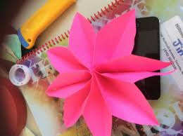 How To Make Flower With Paper Folding How To Fold Paper Flowers 10 Steps With Pictures Wikihow