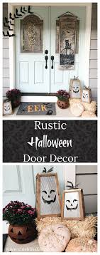 Simple and Rustic Lowes Halloween Decor