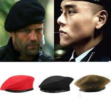 Черный, 100% шерсть головные уборы для мужчин - огромный ...