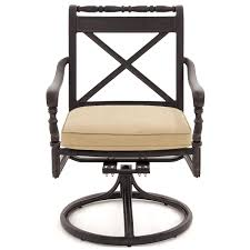 outdoor swivel dining chairs. Carrolton Cast Aluminum Swivel Rocker Patio Dining Chair Outdoor Chairs