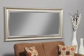 Amazon.com: Sandberg Furniture Champagne Silver Full Length Leaner Mirror:  Home & Kitchen