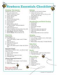 Baby Supplies Checklist Budget Shopping For Newborn Essentials The Newbie Guide To