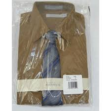 Perry Ellis Size Chart Perry Ellis Boys Dress Shirt Clip On Tie Set Nwt