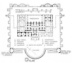 Baths Of Diocletian Plan