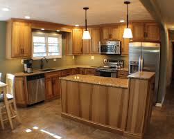 Rustic Beech Cabinets Finished Kitchens Archives Village Home Show