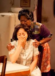 raisin in the sun at timeline family dreams confront reality in  lena mama younger greta oglesby comforts ruth younger toni martin