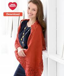 Red Heart Free Patterns Cool Free Red Heart Shawl Knitting Pattern LoveKnitting Blog