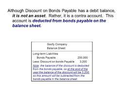 discount on bonds payable balance sheet long term liabilities ppt video online download