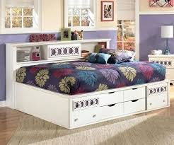 white bookcase storage bed. Delighful Storage Zayley Full Bookcase Bed Storage Size Furniture  In White In White Bookcase Storage Bed