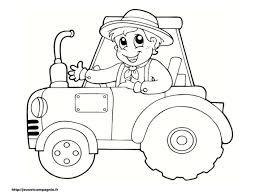 Dessin Colorier Tracteur Imprimer L