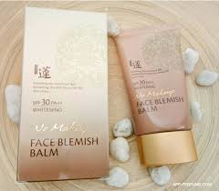 whitening spf30 pa new ขนาด 7 ml ค ณสมบ ต ท วไป welcos no makeup face welcos no makeup face blemish balm