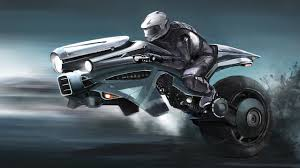 motorcycle on one wheel in the future wallpapers and images wallpapers pictures photos