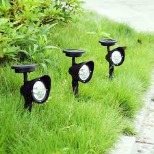 Led Solar Garden Spot Lights Led Solar Power Garden Lamp Spot Light Outdoor Lawn