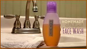 homemade face wash diy