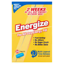 Energize Dietary Supplement Multi-Layered Time Release Tablets ...
