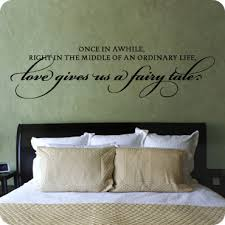 Bedroom Wall Quotes Inspiration Master Bedroom Wall Quotes