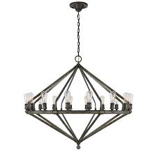 archer extra large chandelier in industrial stee