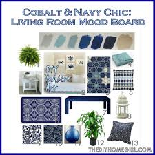 Navy Blue Bedroom Decorating Cobalt Blue And Yellow Living Room Ideas House Decor