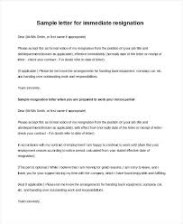 Sample Of Resignation Letter From Jobs Sample Resignation Letter Examples In Word Professional